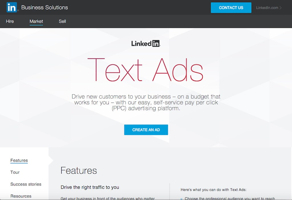 Social-Media-Advertising auf LinkedIn