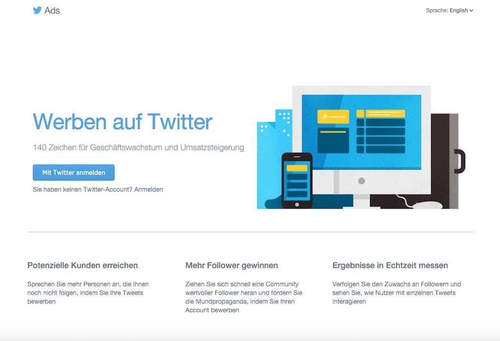 Social-Media-Advertising auf Twitter